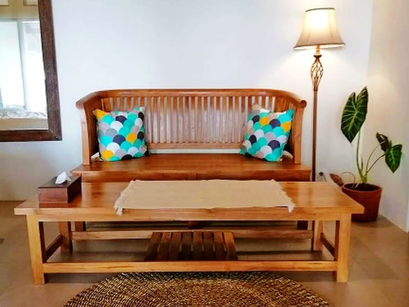 Legon waru cottage Karimunjawa Relax Room