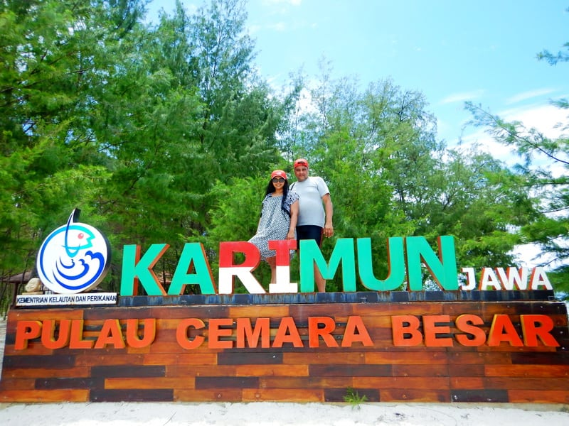 india people come to karimunjawa island