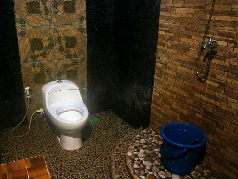 Private bathroom tipe kamar family
